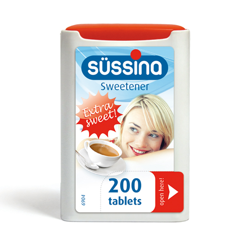 SÜSSINA Sweetener Dispenser 200 Tablets