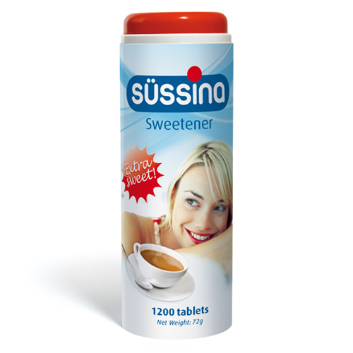 SÜSSINA Sweetener dispenser 1200 tablets