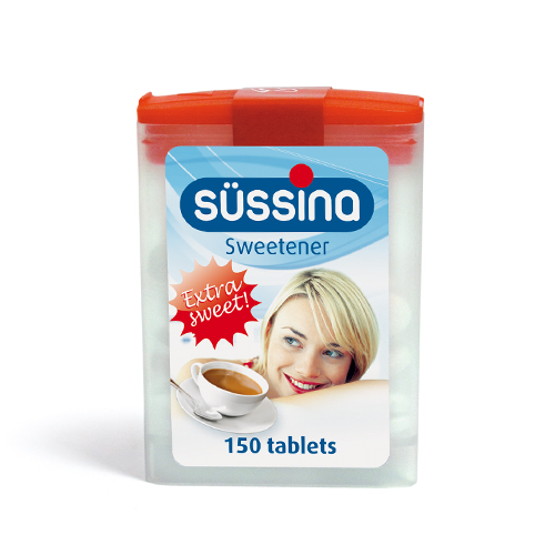 SÜSSINA Sweetener Flipbox 150 tablets