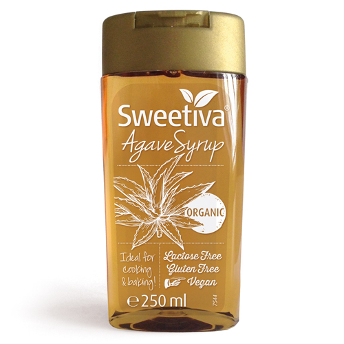 SWEETIVA Agave Syrup Squeeze Flasche 250ml